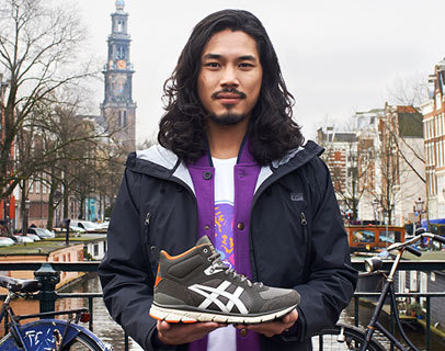 ONITSUKA TIGER ENGAGES AMSTERDAM FOR 'MY TOWN MY TRACKS' AUTUMN WINTER 2014 COLLECTION