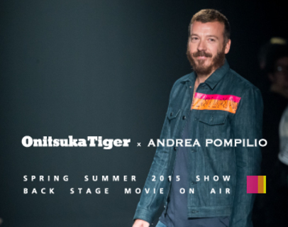 2/7 (Sat.) 2015SS Onitsuka Tiger × Andrea Pompilio Collection Start !