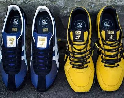 Onitsuka Tiger与BAIT联名推出李小龙诞辰75周年限量鞋款