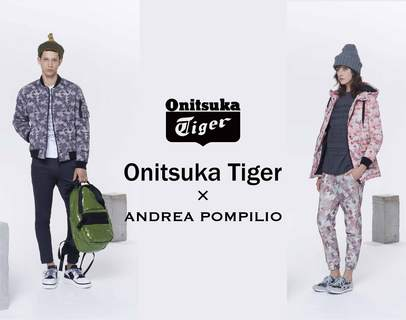The collaboration of Onitsuka Tiger x ANDREA POMPILIO