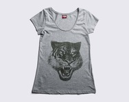 ONITSUKA TIGER HEAD TEE