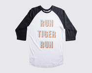 RUN TIGER RUN RAGLAN