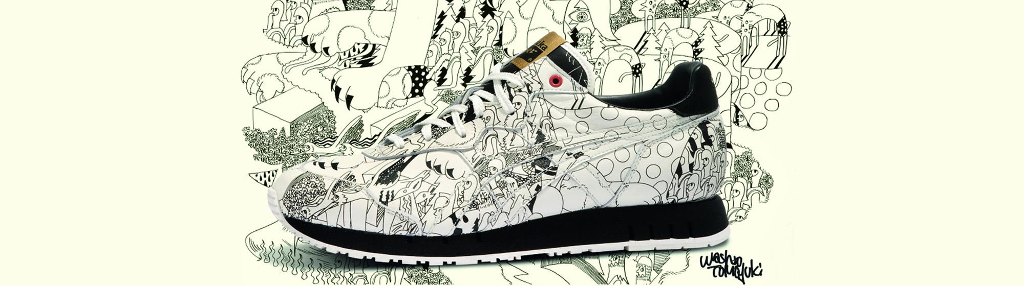 Onitsuka Tiger x Washio